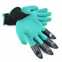 Перчатка с когтями для сада Garden Genie Gloves