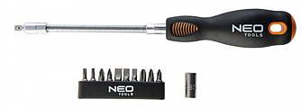 Neo Tools 04-212 Викрутка з гнучким стрижнем, набiр 12 шт
