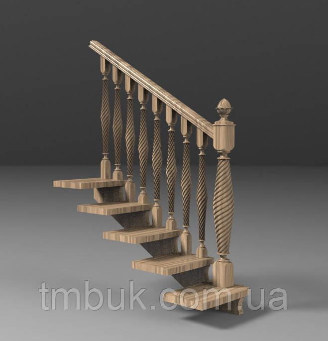 Заходной столб 21 - 970х127х127 мм