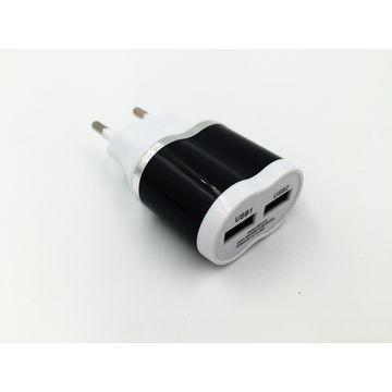 Адаптер заряджання 220V на 2 USB XKY-018 030