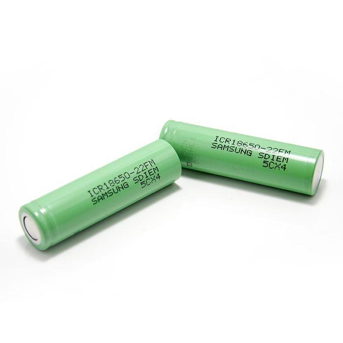 2шт Аккумулятор Samsung 18650-22F 2200mA оригинал
