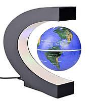 Антигравитационный летающий плавающий глобус левитрон Globe Dark Blue