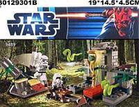 """Конструктор Star Wars """"Повстанцы на Эндоре и штурмовики Империи""""  9489"""