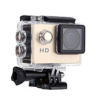 Водонепроницаемая спортивная экшн камера SJ4000 A7 Gold, фото 1