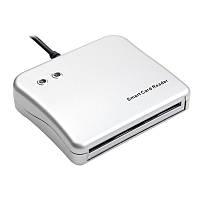 Сканер USB для чипованных смарт-карт IC/ID Smart Card Reader, фото 1