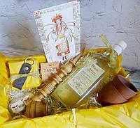 """Подарок мужчинам - набор """"Вітаю"""" с Медовухой"""