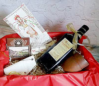 """Оригинальный подарок на Новый Год для женщин - набор """"Вітаю і люблю!"""""""
