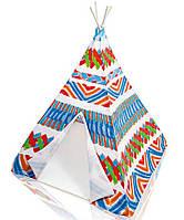 Палатка игровая детская вигвам джунгли Intex 48629