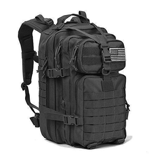 Тактическая армейский военный рюкзак 600D REEBOW 32L Black
