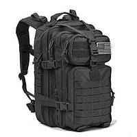 Тактическая армейский военный рюкзак 600D REEBOW 32L Black, фото 1