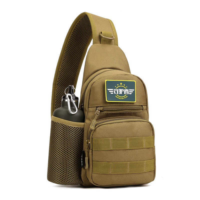 Тактическая военная сумка рюкзак EDC однолямочный Protector Plus X216 Coyote