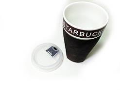Чашка керамічна кружка Starbucks PY 023 Brown