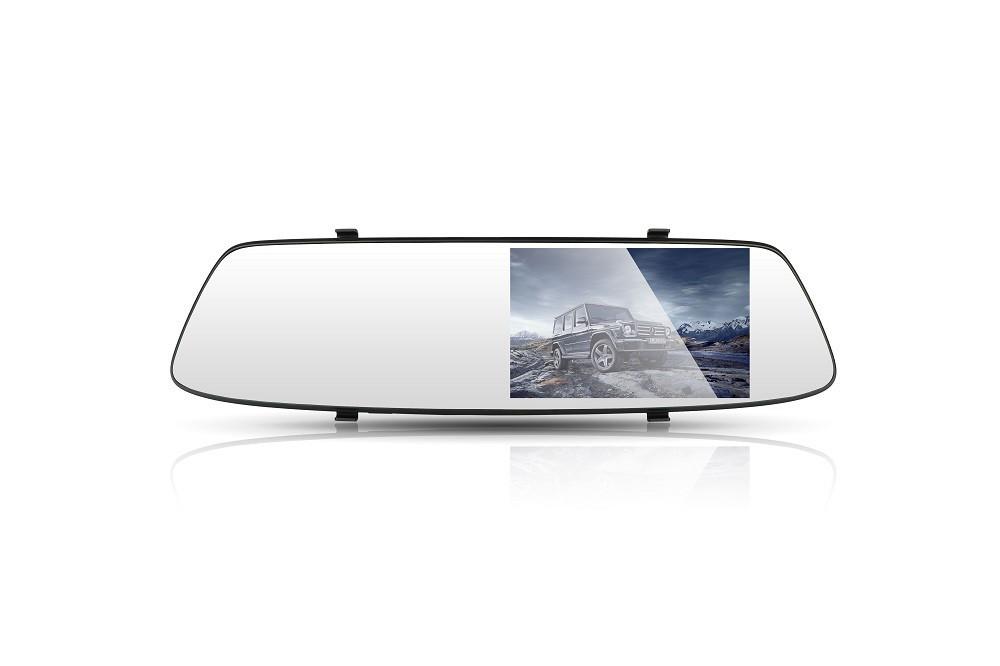 Зеркало заднего вида с видеорегистратором DVR FullHD 1080p A23 c 2ся камерами