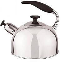 Чайник со свистком из нержавеющей стали капсульное дно Stenson МH-2058 2,5л
