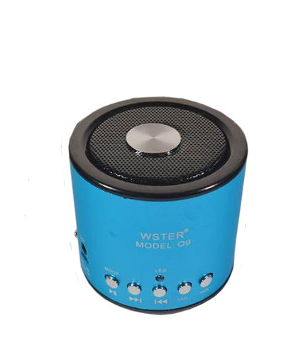 Портативная bluetooth колонка MP3 плеер WS-Q9 Turquoise