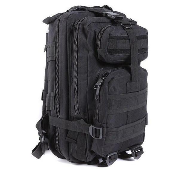 Рюкзак военный тактический штурмовой с USB Molle Assault 36L Black