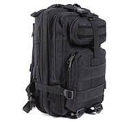 Рюкзак военный тактический штурмовой с USB Molle Assault 36L Black, фото 1