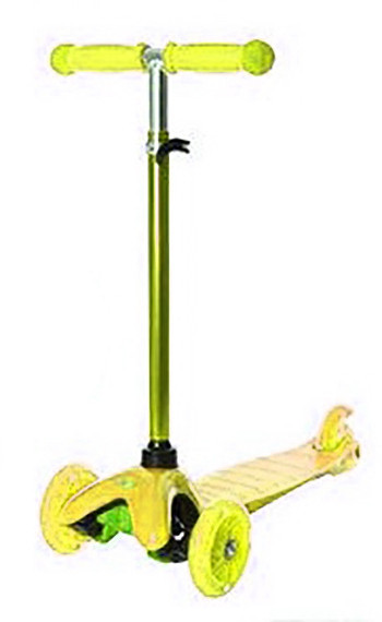 Трехколесный самокат iTrike Scooter BB 3-013-4-H Yellow
