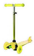 Трехколесный самокат iTrike Scooter BB 3-013-4-H Yellow, фото 1