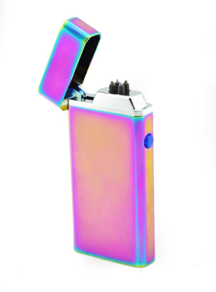 Електрична запальничка microUSB Jinlun 612 2 імпульсних дуги