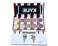 Палетка теней Kylie Kyshadow the burgundy palette набор из 10 теней