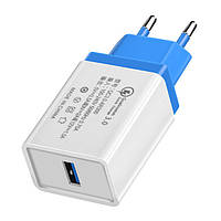 Адаптер зарядка 220V на USB QC 3.0 Fast Charge AR 60