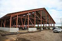 Строительство хоз построек.Складов.Ферм