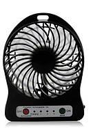 Мини вентилятор mini fan XSFS-01 с аккумулятором 18650 Black