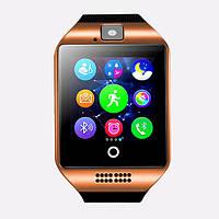 Розумні годинник Smart Watch GSM Camera Q18 Gold, фото 1
