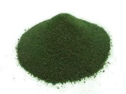 Пигмент краситель для садовых дорожек зелёный