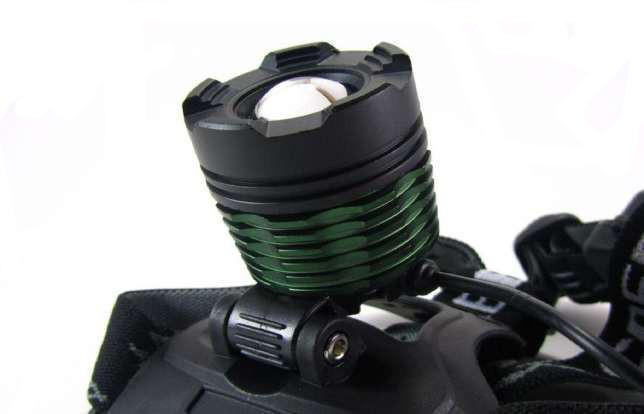 Налобний ліхтарик POLICE BL-2188B T6 158000W