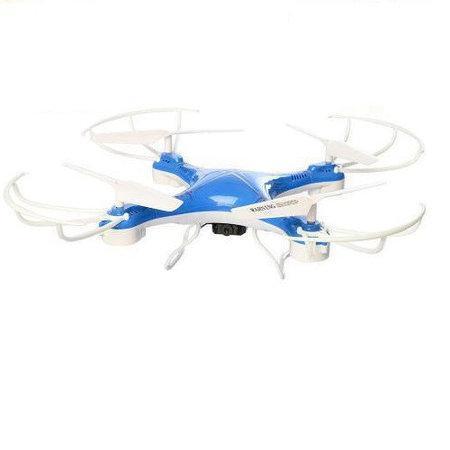 Радіокерований квадрокоптер Drone з камерою і WIFI CF-888-3 Blue