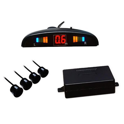 Автомобильный парктроник на 4 датчика дисплей Luxury 1001