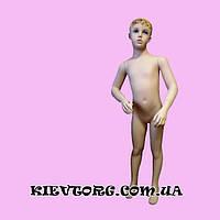 Манекен детский реалистичный мальчик 116 рост