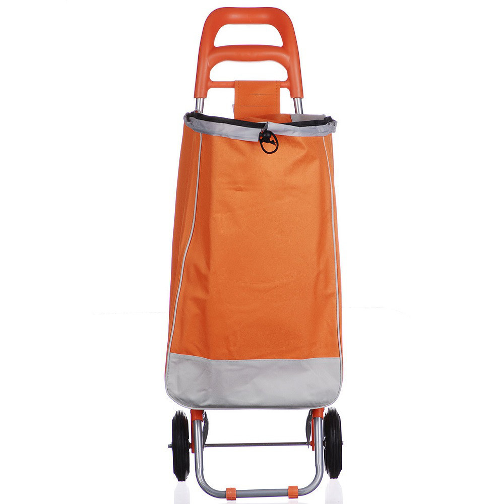 Тачка сумка с колесиками кравчучка металл 94см MH-2079 Orange