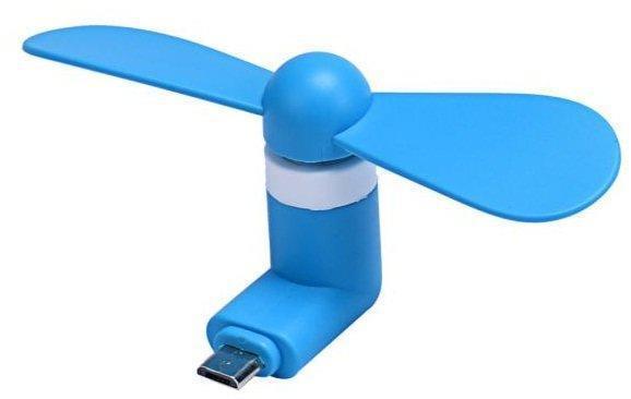 USB вентилятор карманный для телефона Micro Usb