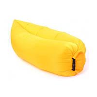 Надувной матрас Ламзак AIR SOFA RAINBOW 2,2м, Желтый