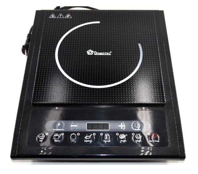 Індукційна електроплитка Domotec MS 5831 потужністю 1500Вт з таймером