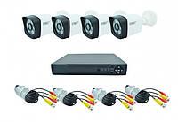 Комплект DVR регистратор 4-канальный и 4 камеры UKC DVR CAD D001 KIT , фото 1