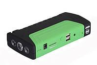 Пусковий пристрій авто акумулятора Jump Starter 2000W зелений, фото 1
