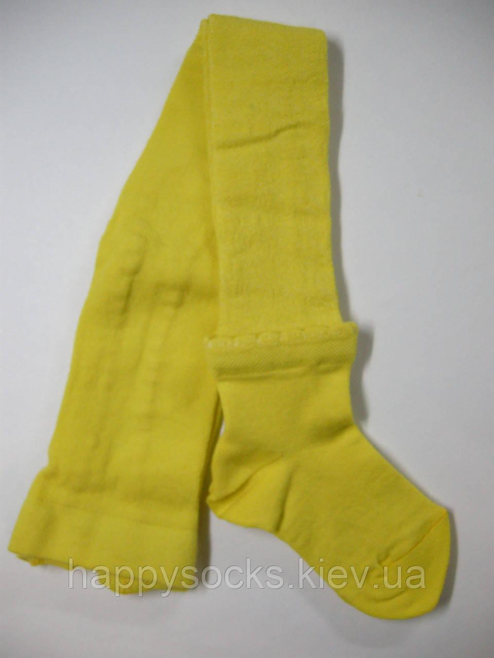 Ажурные детские колготки с имитацией носка