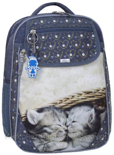 9da31ea96946 Школьный ортопедический рюкзак Bagland для девочки серый: продажа ...