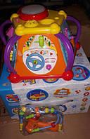 Музична розвиваюча іграшка, сортер, мультибокс, дитяча іграшка