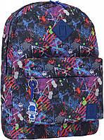 Рюкзак городской молодежный Bagland сублимация краски 17 л.