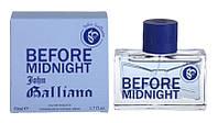 John Galliano - Before Midnight (2013) - Туалетная вода 4 мл (пробник) - Редкий аромат, снят с производства
