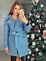 Женское зимнее пальто из букле Милена, фото 1