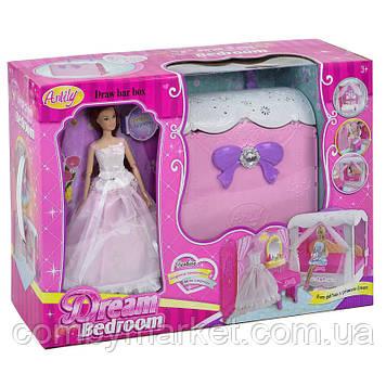 Кукла Anlily 99047 со спальней