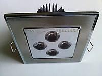 Точечный светильник CTC-LED 1650 4Вт SN CH