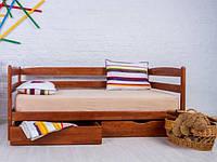 Кровать односпальная Ева с ящиками без бортика, 90х200