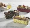 Бумажные формы для кексов и пирогов Plumpy, золотой узор на коричневом, 158х54х50 мм, фото 2